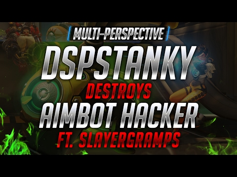 [Multi-Perspective] DSPStanky Destroys an Aimbot Hacker ft. Slayergramps