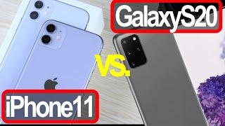 Samsung Galaxy S20 vs Apple iPhone 11