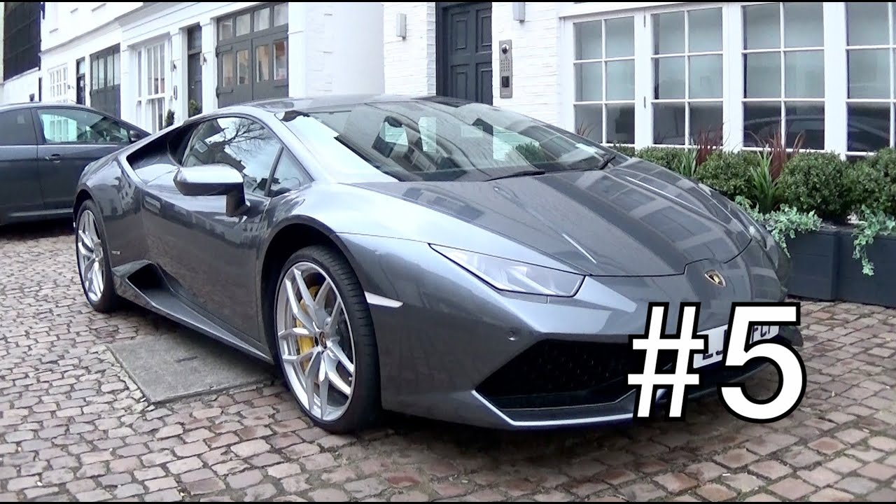 London Supercar Insanity #5 - Alfa 4C, Yellow Ferrari Daytona, Yiannimize 458 + More!