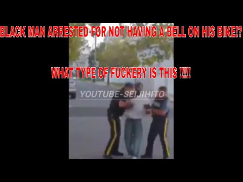 Black Man Arrested For Not Having A Bell On His Bike While Riding