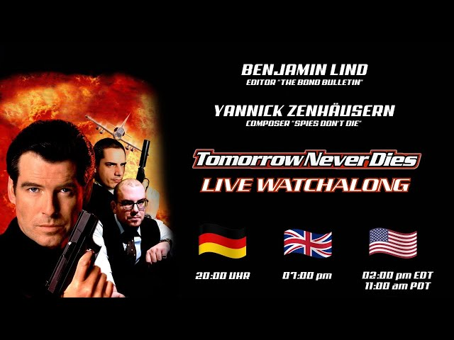 James Bond Tomorrow Never Dies - LIVE WATCHALONG