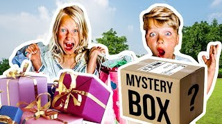 KiD WHO BUYS The Best PRESENT Wins SURPRiSE MYSTERY BOX!
