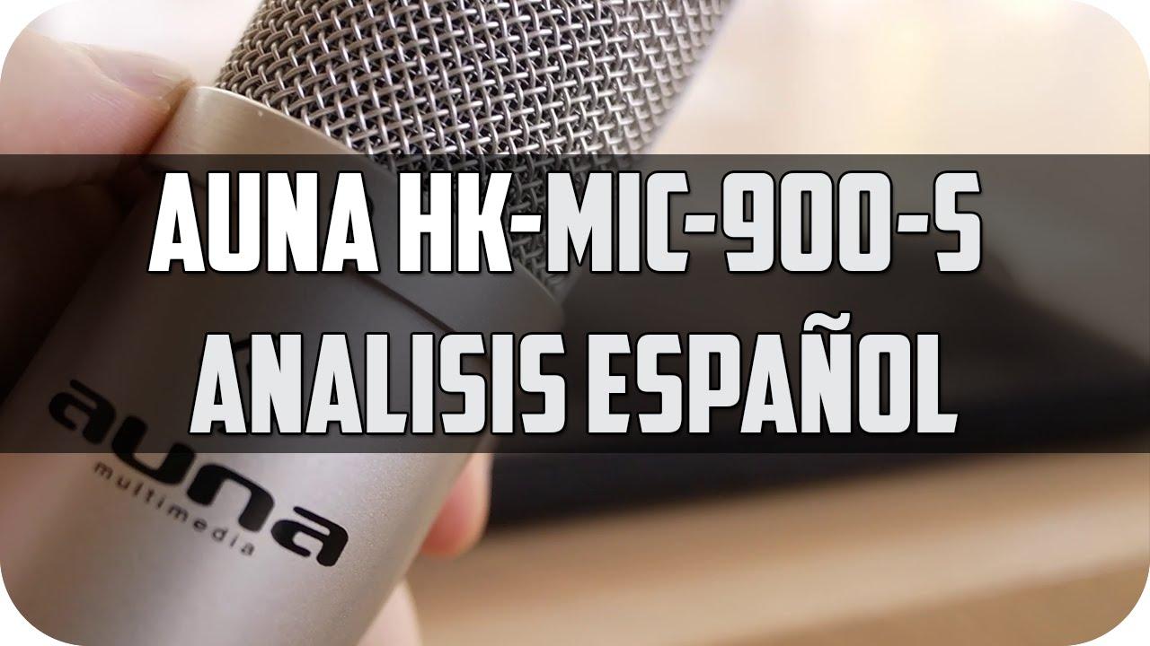 c32111aaeaaa0 Mejor micrófono para grabar voz  Auna hk-mic-900 micrófono de ...