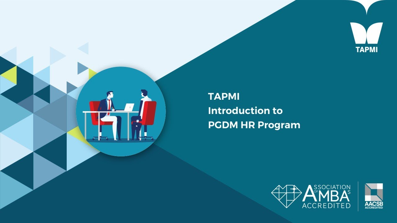 TAPMI Introduction to PGDM HR Program