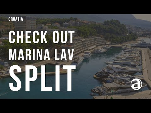 Marina Lav Podstrana - Split | Air Video | Yacht Charter Croatia | Yacht Concierge antropoti