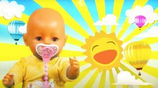 Видео про игрушки. Беби Аннабель простудилась! Игры в больницу с доктором игрушек. Дочки Матери