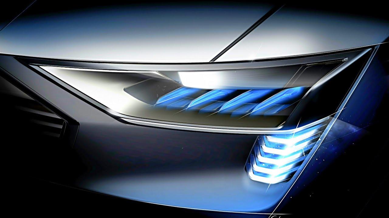 Audi Headlight Technology Hd Matrix Led Headlights And Laser