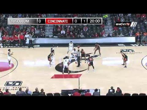 Men's Basketball Highlights: Cincinnati 68, Tusculum 41