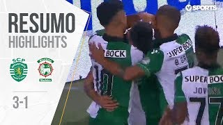 Highlights | Resumo: Sporting 3-1 Marítimo (Allianz Cup #1)