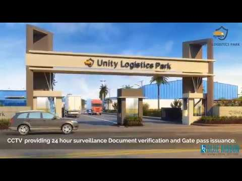 Unity Logistics Park 3D walkthorugh