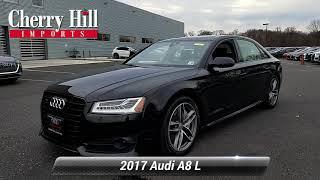 Certified 2017 Audi A8 L Sport, Cherry Hill, NJ U7966