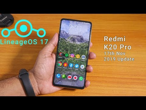LineageOS 17 On Redmi K20 Pro [17/11/2019 Build] Full Review!