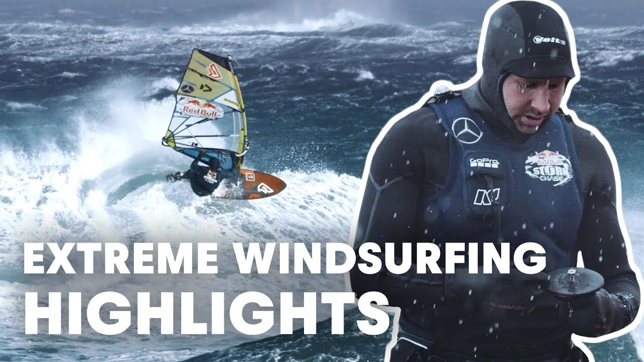 Windsurfing During A Massive Storm In Ireland | Red Bull Storm Chase 2019