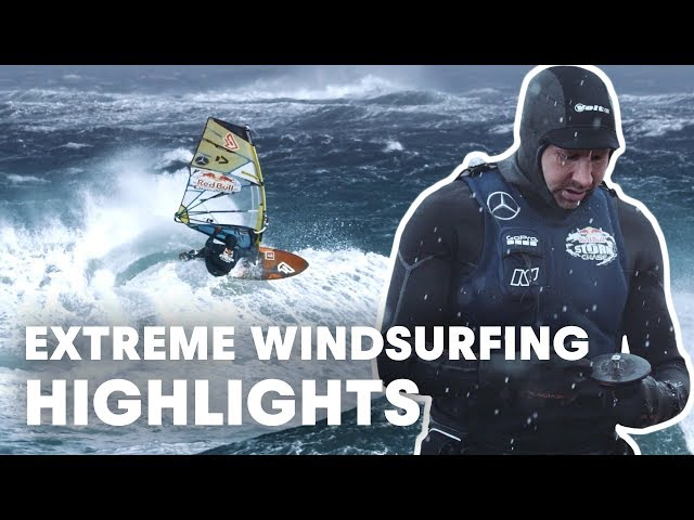 Windsurfing During A Massive Storm In Ireland   Red Bull Storm Chase 2019