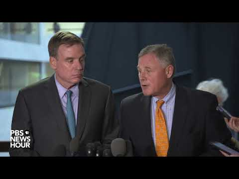 WATCH LIVE: Senate Intelligence Committee members may react to whistleblower complaint