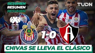 Resumen Guadalajara 1 - 0 Atlas | Liga MX - Apertura 2019  - Jornada 9 | TUDN