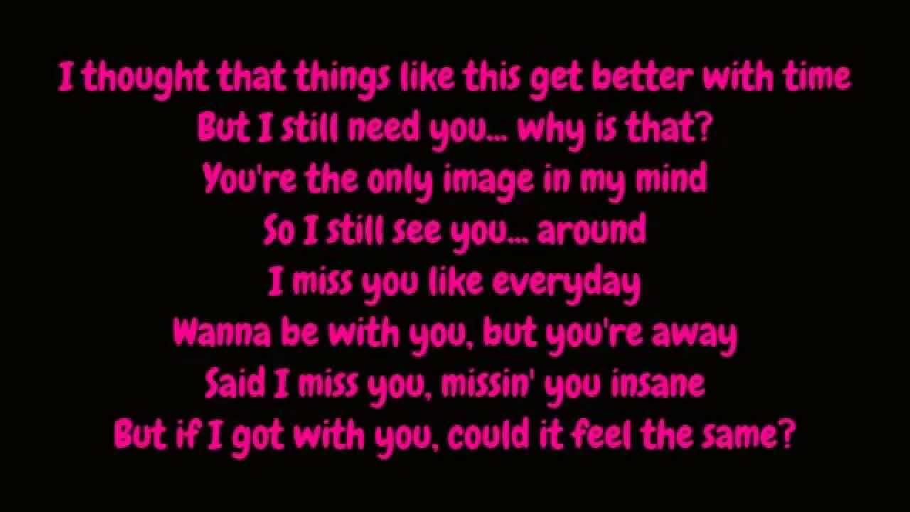 Missin you lyrics