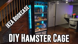 Diy Hamster Cage Tour & Hamster Reactions