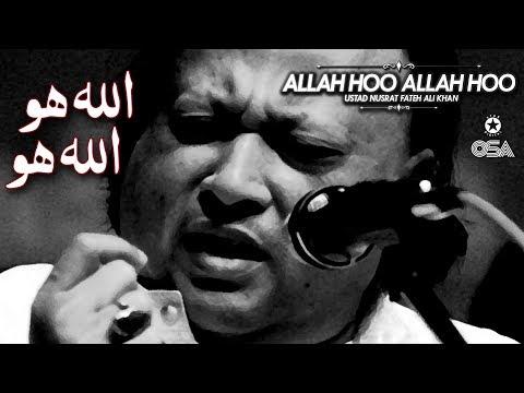 Allah Hoo Allah Hoo | Ustad Nusrat Fateh Ali Khan | Official Version | OSA Islamic