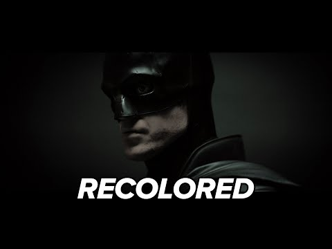 The Batman - Camera Test (Recolored)