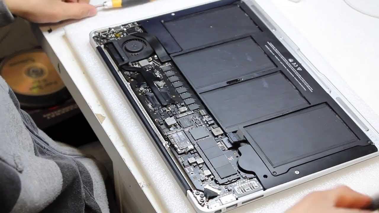 Macbook Air Teardown Disassembly (Model A1466) - YouTube