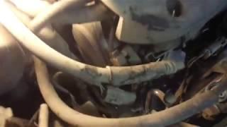 МАЗДА- как  натянуть ремень генератора и компрессора  кондиционера-мазда