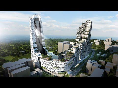NAIROBI TALLEST BUILDING, AVIC TOWER. GLOBAL TRADING CENTER (GTC)