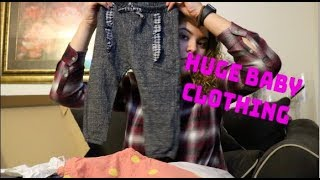 HUGE baby clothing haul!