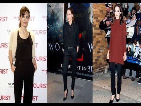 Angelina Jolie Casual Styles - 2016