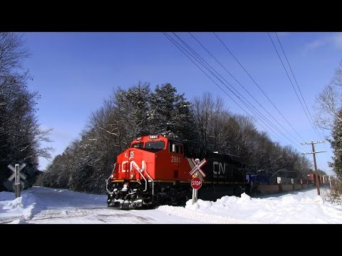 CN 2881 at Severn Bridge (14FEB2015)