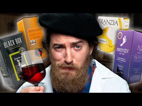 Boxed Wine Taste Test