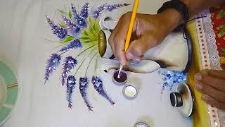 Roberto Ferreira – Aprenda a pintar Bule antigo – Parte 2 – Finalizando Projeto