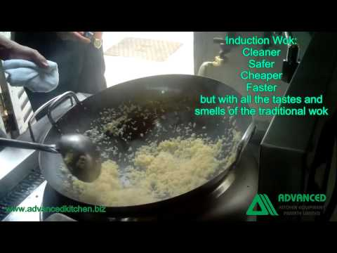 Advanced Kitchen   Induction Wok, Fried Rice