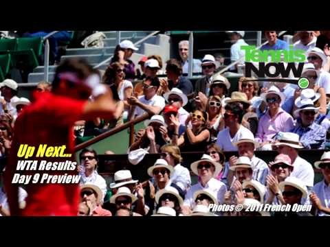French Open Day 8 Highlights, Fognini and Murray Injured, Zvonareva Upset