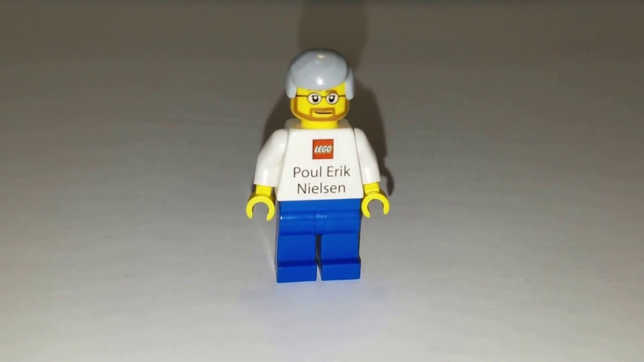 Lego Employee Poul Erik Nielsen Business Card Minifigure - YouTube