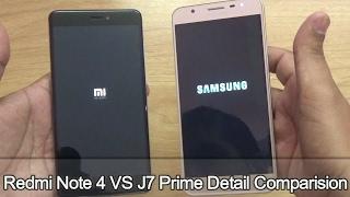 Xiaomi Redmi Note 4 vs Samsung J7 Prime !! Detail Comparision !! Full Comparision !! HINDI