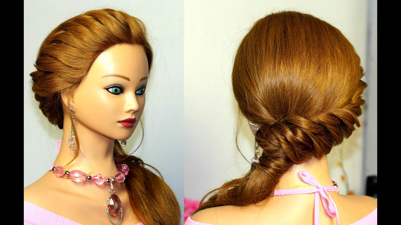 Easy hairstyle  for long  hair  YouTube