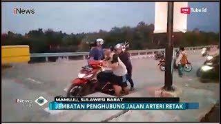 Diguncang Gempa, Jembatan Penghubung di Mamuju Retak dan Bergeser - iNews Pagi 29/09
