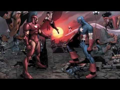 [А в комиксах как?] Civil War - Гражданская Война в Марвел