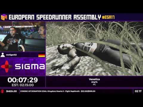 #ESA17 Speedruns - Venetica [Any%] by mrtiger92