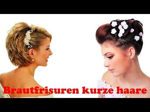 Brautfrisuren Kurze Haare Youtube