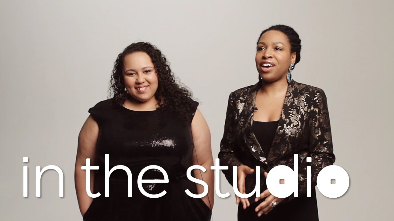 In The Studio: CHARENEE WADE + BRIANNA THOMAS