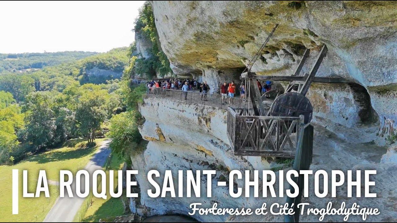 La Roque Saint-Christophe fort et cité troglodytique