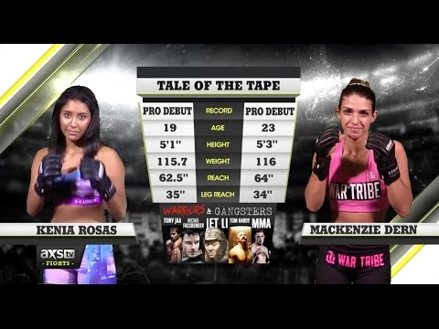 Best Fights of 2016: MacKenzie Dern Makes Her MMA Debut But Can't Finish Kenia Rosas