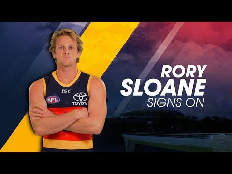 Rory Sloane Re-Signs - YouTube