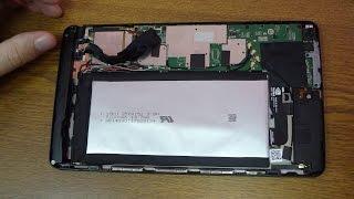 Замена аккумулятора в планшете NVIDIA SHIELD Tablet