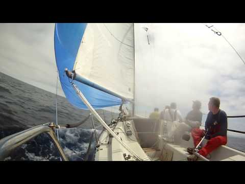 "Hobie 33 ""Flying Dutchman"" Santa Barbara to King Harbor Race 2011"