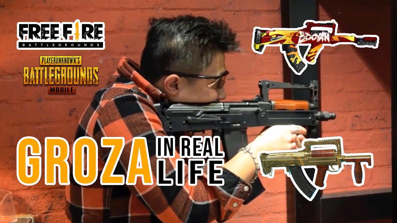 Download OTS 14 Groza Real Life Shooting, Groza Gun Real Life