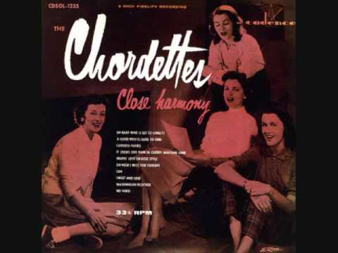 The Chordettes - O Baby Mine (I Get So Lonely) (1955) (a Cappella)
