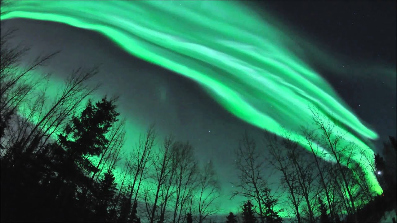 Dance And Break Up Of Northern Lights Over Fairbanks, Alaska (March 9,  2011)   YouTube Gallery